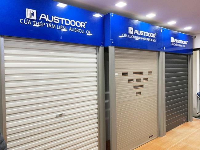 Showroom Decor: Đơn vị cung cấp cửa cuốn Austdoor chính hãng